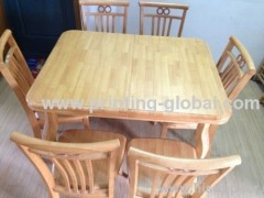 Wood heat transfer film/hot stamping film for wooden dining-table