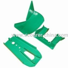 lost wax investment casting steel components of forklift