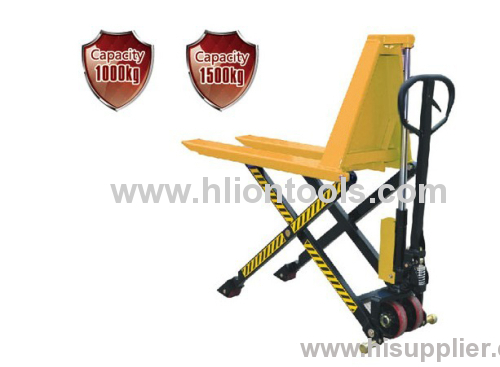 Powered Scissor Lift Pallet Truck