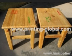 Wood heat transfer film/hot stamping film for wooden bench