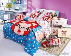 4pcs lovely children bedding set