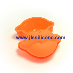 LFGB approved mini monkey silicone baking molds
