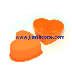 mini sweet heart silicone bakeware moulds
