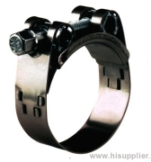 Hose Clamp triples band tension.