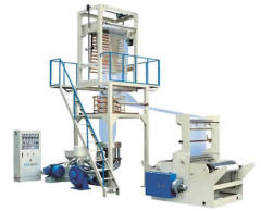China PE film blowing machinery