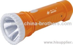 1led 9988 led rechargeable plastic flashlight