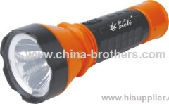 0922 model plastic led rechargeable torchlight