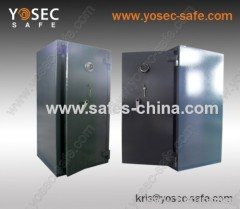 Heavy duty safes with key lock and digital lock control/ high security safe with dial lock/ large fire resistant safe