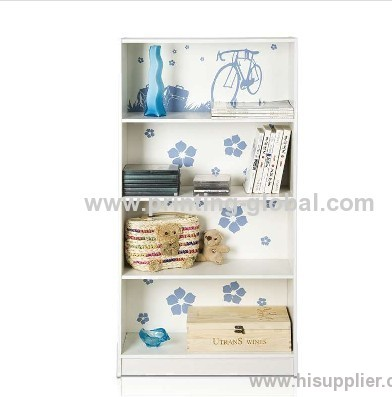 Hot stamping film for wood/wooden book shelf