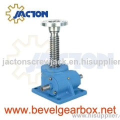 screw jacks for motor alignment, electric lift gear actuators, fabrication of motorized screw jack