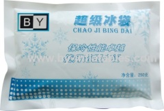 Instant cold pack for reducing the pain of slight sprains