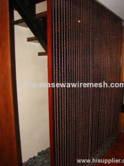 decorative metal beaded curtains