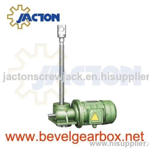 motor driven 20 ton jack,high torque gear-motor for acme
