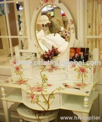 Wood heat transfer tape/thermal transfer film for wooden dressing table