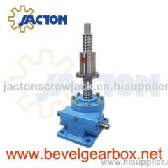 miniature lifting screw jack, light duty screw jack rod, miniature screw jacks, gear worm jack 6:1 MINI