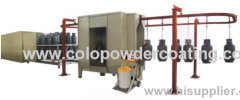CE certificate powder coating machine for sale