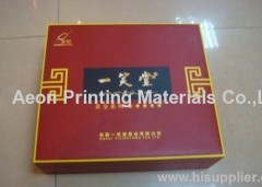 Wood heat transfer foils/thermal transfer foil for packing box
