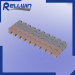 Slat top modular conveyor belt 0.5'' pitch (model 2120)