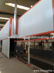 Fuel Heating Drying Tunnel