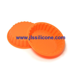 round silicone pie baking molds