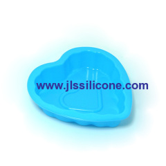 DIY series mini heart silicone pie bakeware moulds