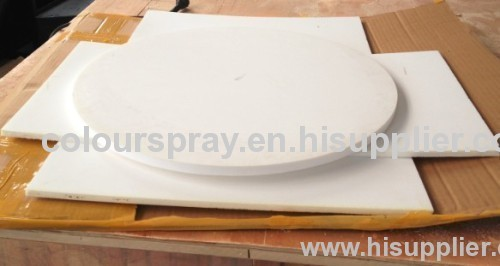fludizing plate for powder coating