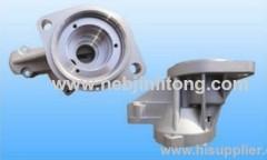 good quality Isuzu motor housing die casting parts manufacturer