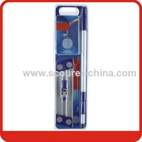 Luxury Falt Microfiber Mop Kit in blister packing