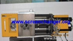 double piston hydraulic filter with double working positions