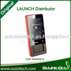 Launch X-431 Diagun III Support Asia, Europe and America Cars...