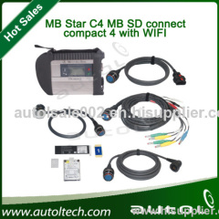 Latest Version 07/2013 For MB Star Compact 4 Star C4 SD Connect For Benz Cars & Trucks