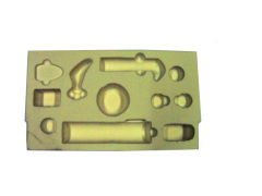 plastic tray for product display