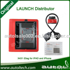 Launch X431 Idiag Auto Diag Scanner for iPad and iPhone, Update Via Internet