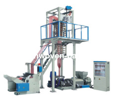 PE Double Color Strip Film Blowing Machinery