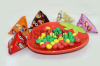 children chocolate puffing candy