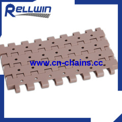 vacuum top modular conveyor belt