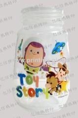Plastic Milk Bottle Heat Transfer Printing Sticker Safe n Non-Toxic