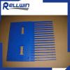 Plastic finger use for conveyor modular belts