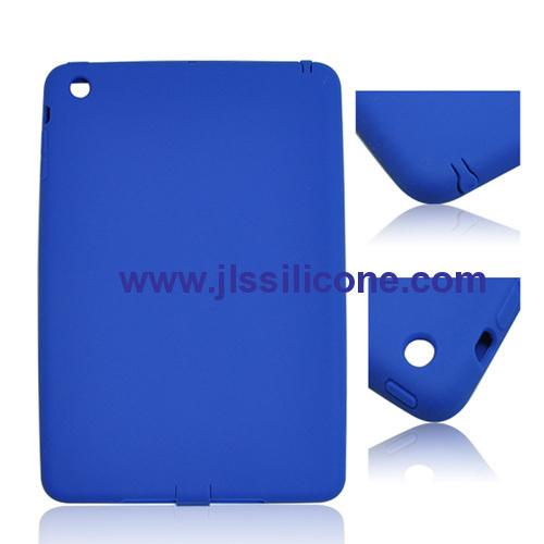 Fashion silicone skin covers for iPad mini