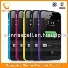 2000mah For iphone 4/4g power battery case for iphone