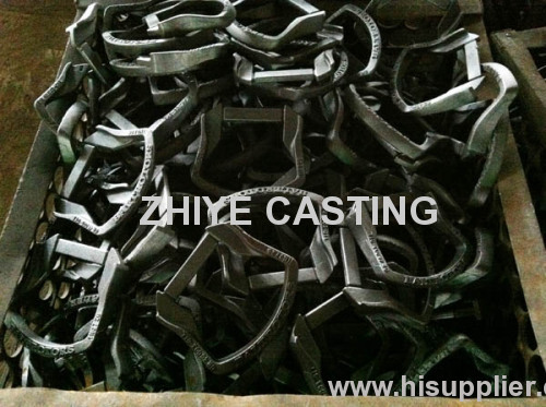ductile iron casting jet in machiery