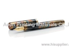Metal heat transfer film/hot stamping film for fountain pen
