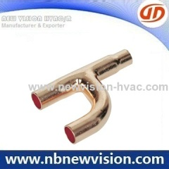 Copper H Bend Fitting for A/C Coils - Condensers & Evaporators