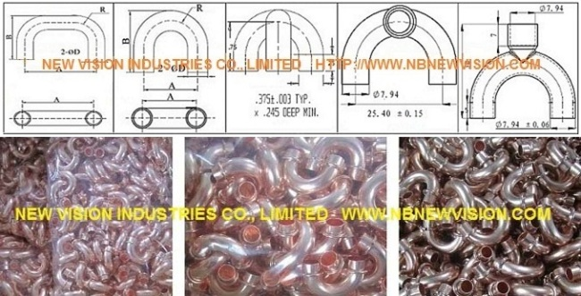 Copper return bend with rings manufacturers and suppliers