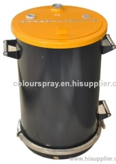 new Fluidizing powder container