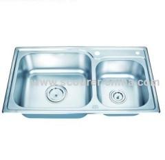 Undermount Stainless Steel Topmount Kitchen Sinks