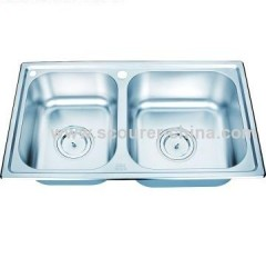 Double Bowl Undercounter Kitchen Sinks