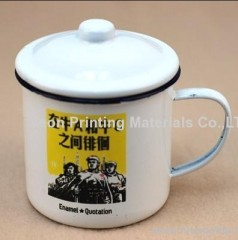 Metal heat transfer tape/hot stamping tape for metal cup