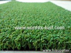 non sand infill synthetic golf green