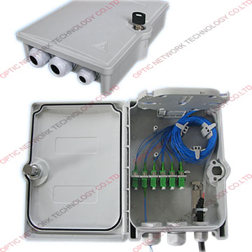 Outdoor FTTH Fiber Optic Termination Box